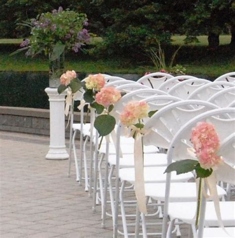 diy wedding ceremony chair decorations 74 wedding chair decor ideas with floral swags and posies happywedd