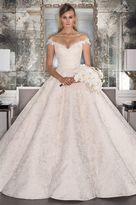 Bridal Fashion Week Recap Romona Keve?a Fall 2017 Collection