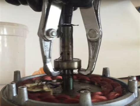 Ceiling Fan Bearing Puller how to repair squeaky ceiling fan all