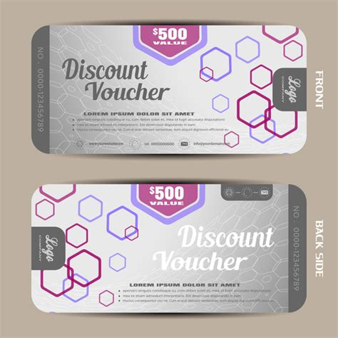 discount voucher template free download gallery