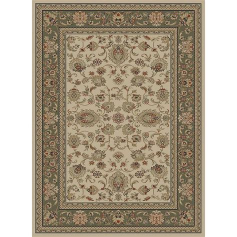 home depot accent rugs tayse rugs sensation ivory 7 ft 10 in x 10 ft 3 in