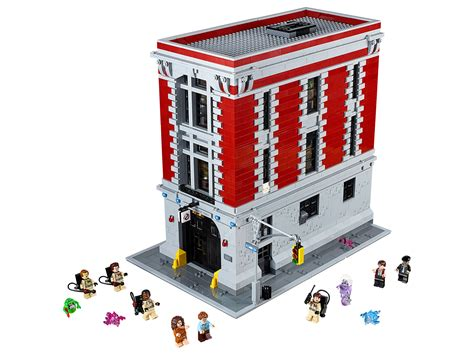 Lego Ghostbusters House by Lego 75827 Officially Revealed Today By Lego Lego Ghostbusters Firehouse Headquarters