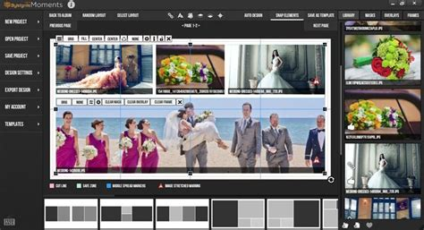 photo album layout software reviewing moments photo album design software apogee