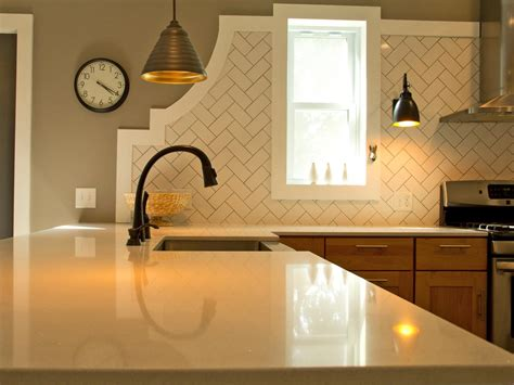 kitchen backsplash subway tile patterns photos hgtv
