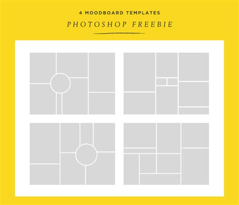 photo templates free 15 free moodboard templates for designyep