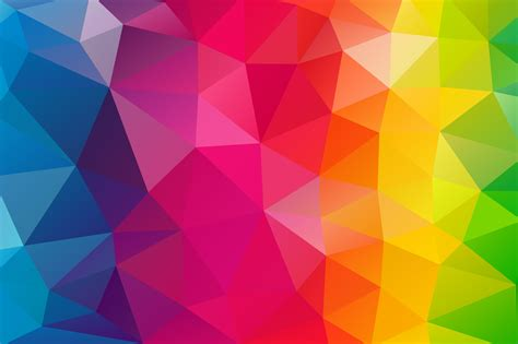 triangles colorful background p resolution