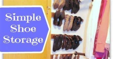 simple shoe storage simple shoe storage hometalk