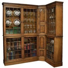 oak corner bookcase i need something like this but with
