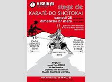 Buzz : Stage de Karate Do Shotokai – Paris | À Découvrir Minoru Higa