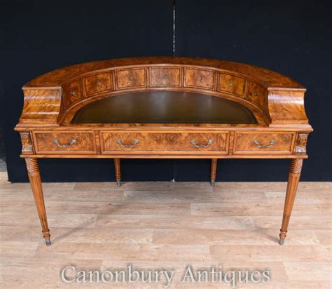 carlton house writing desk regency walnut carlton house desk writing