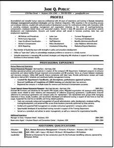 Resume Sles For Human Resources Human Resources Resume Sle Strategic Manager The Resume Clinic