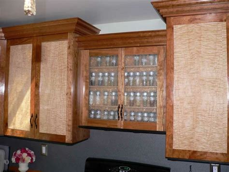 birdseye maple kitchen cabinets curly maple cabinet doors cherry w curly maple