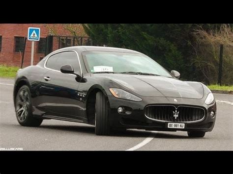 How Fast Is A Maserati by Fast Ride In Maserati Granturismo S Loud Sound