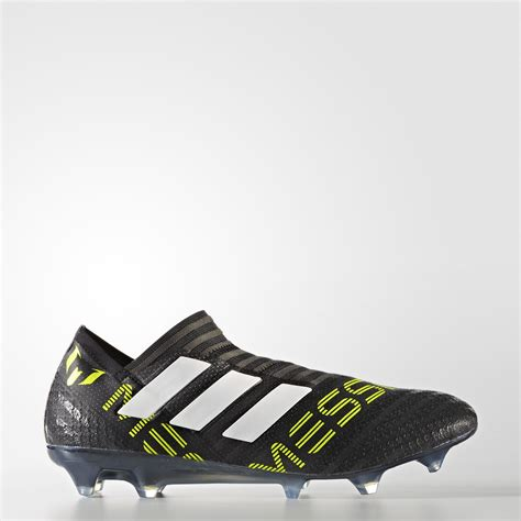 Adidas Nemeziz 17 Black Solar Yellow adidas nemeziz messi 17 360 agility firm ground boots black footwear white solar