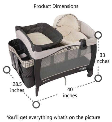 Top Rated Safe And Best Selling Pack N Plays 2015 Reviews Graco Crib Mattress Size
