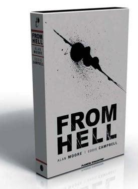 libro from hell companion the en abril vuelve la l 237 nea trazado de la mano de planeta deagostini c 243 mics zona negativa