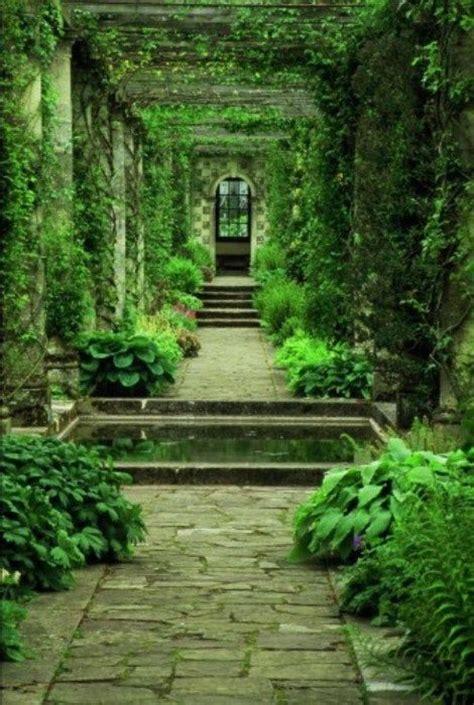 Garden Arbor Path Paths Arbors And Gardens On