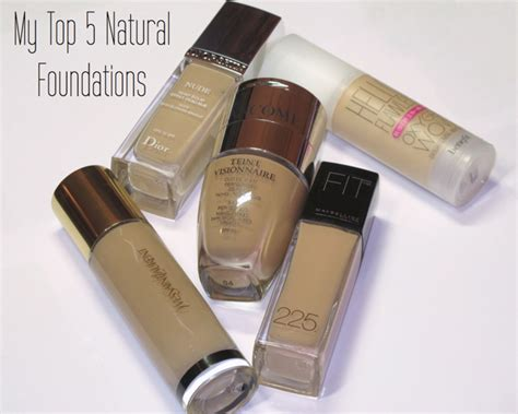 My Top 5 Foundations by My Top 5 Foundations Of All Times Huda