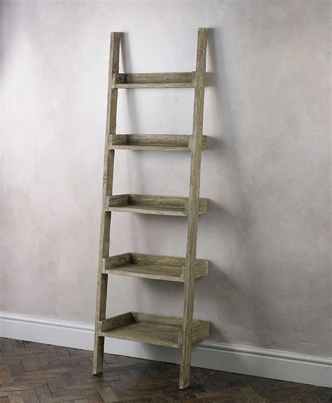 ladder shelf outstanding storage ideas with a ladder shelving unit