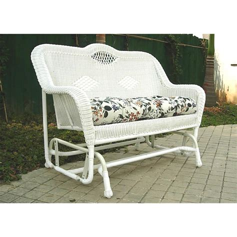 all weather wicker bench chicago wicker 174 savannah all weather wicker settee