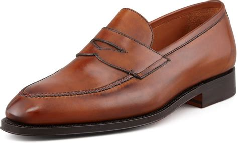 light brown loafers brown leather loafers bontoni principe loafer light