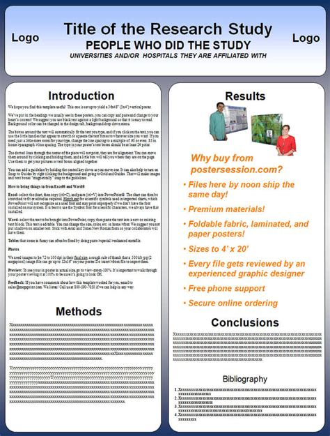 poster template vertical 14 scientific research poster templates free ppt pdf