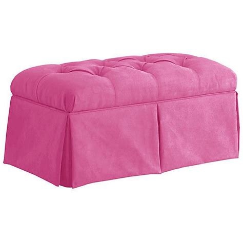 pink storage ottoman bench 17 best images about living rooms on pinterest