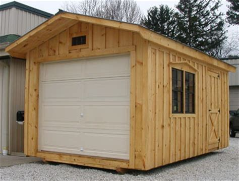Sheds With Garage Door by Garage Door Sheds Shanty Genuine Sheds