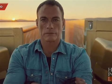 what s the new volvo commercial about jean claude van damme performs insane in new volvo