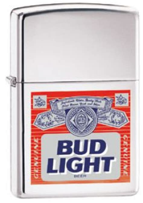 Bud Light Label by Tobacco Items Lighters 2000 Zippo Bud Light Label