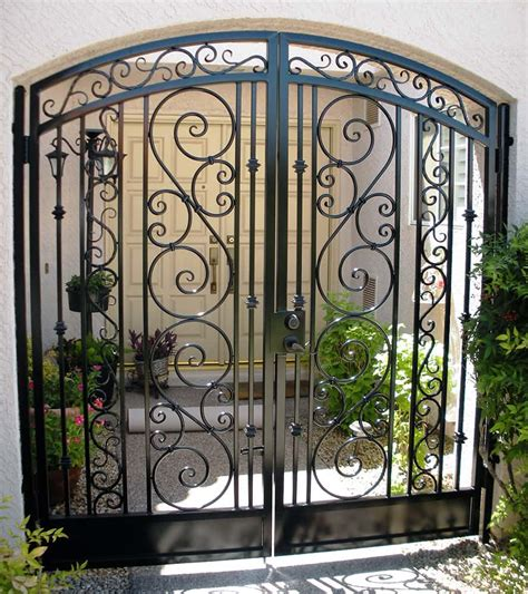 Wooden Furniture For Kitchen Decorative Wrought Iron Gate Examples Sun King Fencing