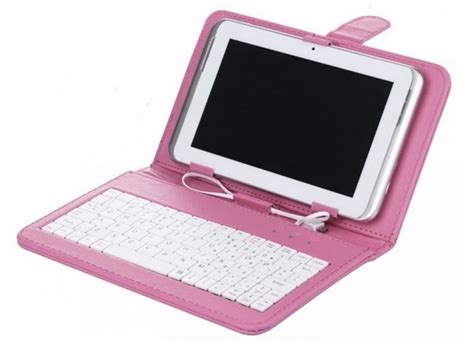 Casing Tablet 7 Inci 7 inch tablet keyboard pink 7 inch tablet cases