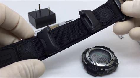 Casio Protrek Prg 130 pulseira velcro casio sgw 100 prg 40 prg 130 prg 110 pro