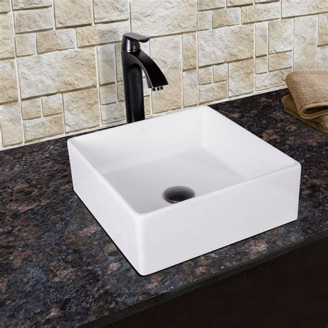 Home Depot Bow Windows vigo bavaro matte stone vessel sink in white with linus