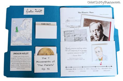 beethoven biography outline 4 new composer lapbooks color in my piano