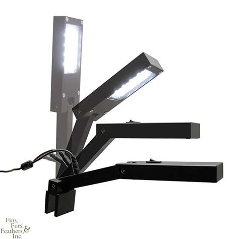 led clip on light aquarium hydra aquatics retina i led fixture a small sleek clip