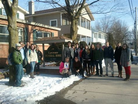 anthropology students visit local funeral home st
