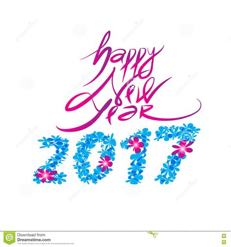 new year design logo happy new year logo and typography design stock vector