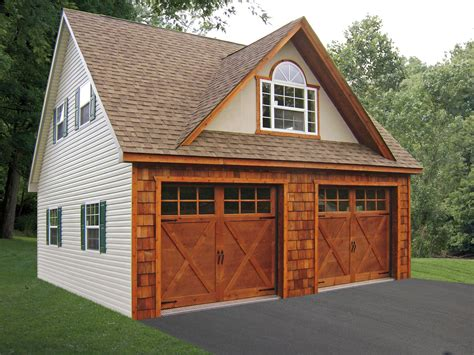 Garage Apartment Floor Plans built on site custom amish garages in oneonta ny amish