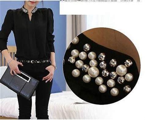 decorar ropa con tachas bordado de blusas con perlas y tachas buscar con google