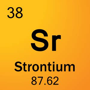 What Is Sr On The Periodic Table by Element 38 Strontium Science Notes And Projects