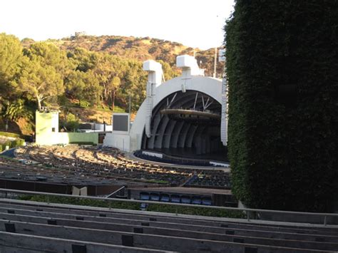 hollywood bowl section f3 section e and the obstructed view hollywood bowl