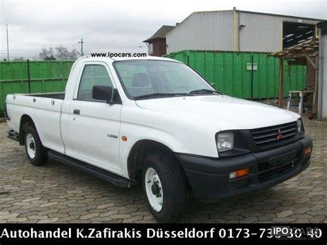 mitsubishi truck 1998 1998 mitsubishi l200 gl 4x2 pick up car photo and specs