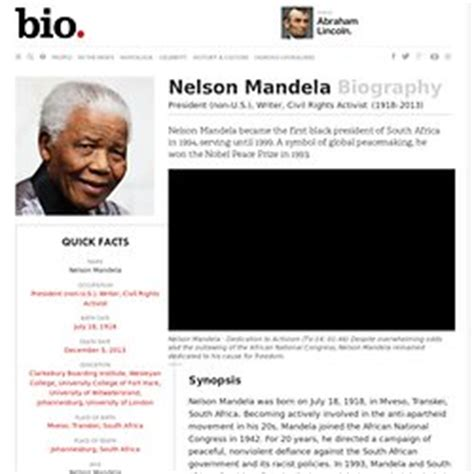 Nelson Mandela Writer President Non U S Civil | republic of south africa part 2 pearltrees