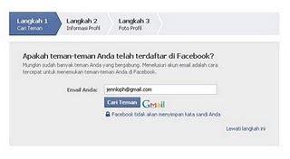 membuat mendaftar facebook cara bibingan toturial membuat facebook new donie s