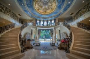 Garages With Apartments Mediterranean Mansion In Houston Tx With Amazing Foyer