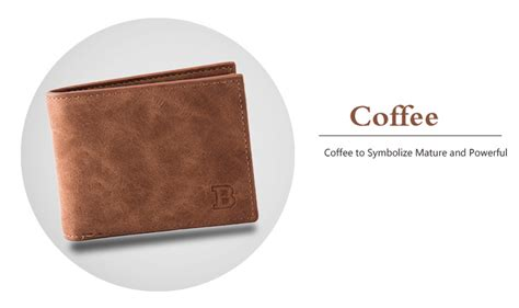 Dompet Pria Bogesi Leather S Wallet Coffee Brown fashion mini s luxury business wallet card holder purse coin bag zipper ebay