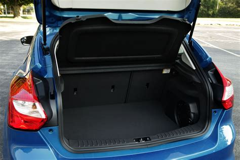 Ford Focus Interior Space by Ford Focus Hatchback Trunk Space