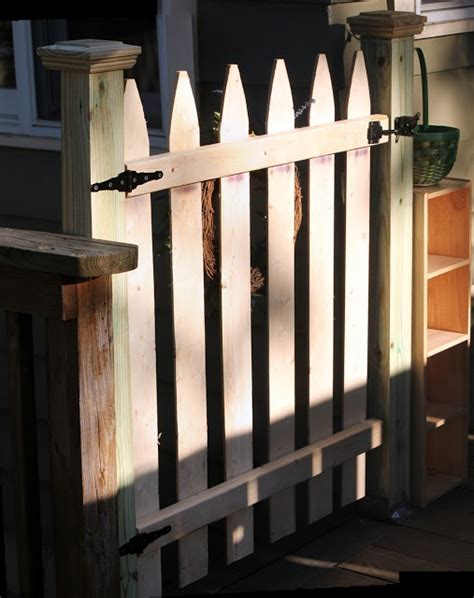 porch gate for dogs how to gate for your deck diy