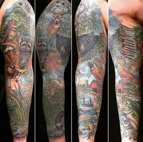 gone fishing tattoo 75 fishing tattoos for reel in manly design ideas